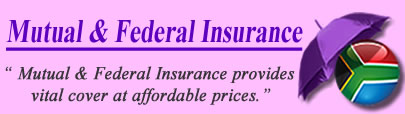 Logo of Mutual and Federal Insurance South Africa
