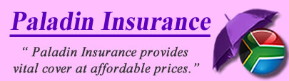 Logo of Paladin Insurance South Africa